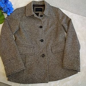Banana Republic Tweed Wollen Coat.
